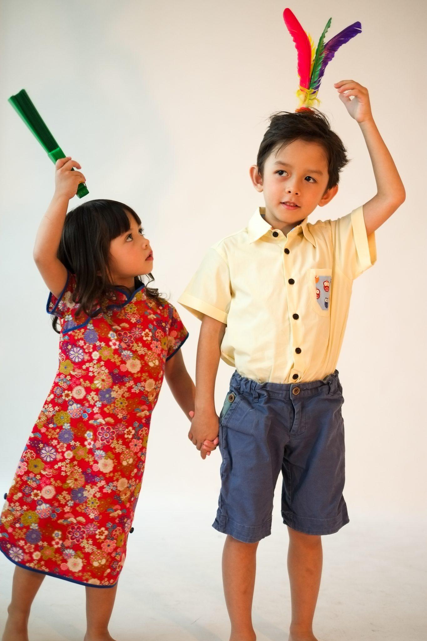 little qipao kids cheongsam Modern Chinese dress