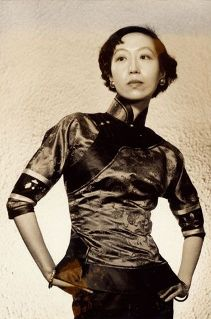 evolution qipao cheongsam dress-eileen-chang-1940s