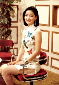 Teresa Teng in Qipao 1970s evolution qipao cheongsam dress