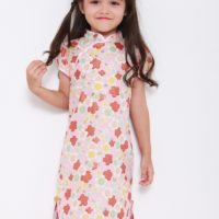 Girls CNY cheongsam Qipao kids party clothes Racial harmony performance /Girls cheongsam(qipao)