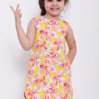 toddler dress yellow