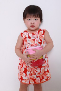 cny baby red dress
