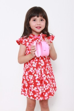 kids red dress